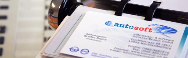 Impressum autosoft GmbH